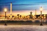 Fototapeta Fototapety Paryż - Paris Place de la Concorde