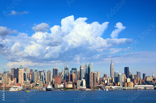Manhattan skyline with Empire State Building, New York