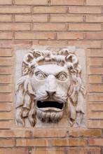Lion Head Post Box