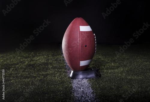 Football Field Kickoff Fototapeta