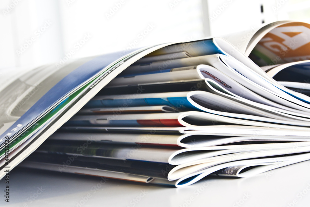 Fototapeta Journals catalogs