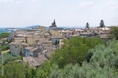 Photo Panoramic view of Amelia. Umbria. Italy.