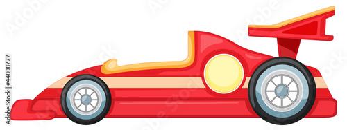 Fototapeta red car obraz