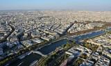 Fototapeta Wieża Eiffla - Paryż z wieży Eiffla