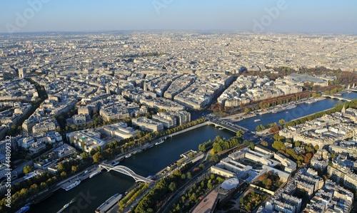 Fototapeta Paryż z wieży Eiffla obraz