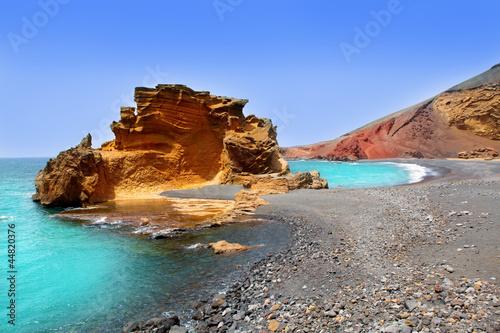 Fotografia  Lanzarote El Golfo Lago de los Clicos
