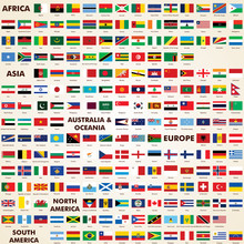 Flags Of The World, Pack World...
