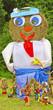 Scarecrow of straw