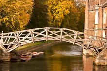 Mathematical Bridge In Autumn