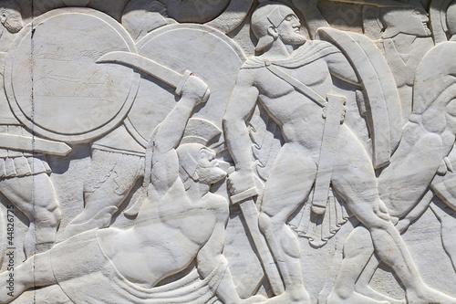 pomnik-leonidasa-w-termopilach-grecja