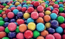 Large Group Of  Gumballs