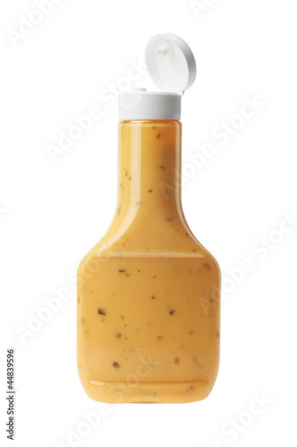 Obraz na plátně Bottle of Thousand Island Salad Dressing
