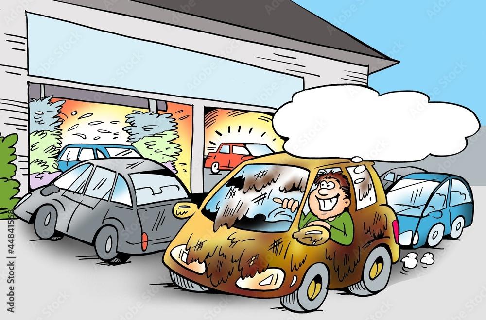 Приколы в картинках про автомойку