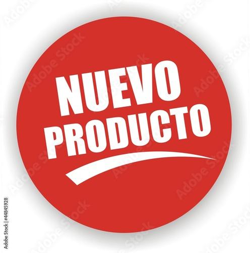 étiquette nuevo producto