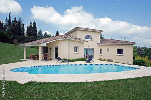 Photo  belle villa avec piscine  # 06