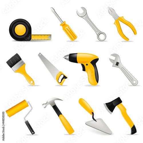 Fotografie, Obraz  tools set