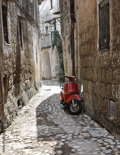 Fototapety, obrazy: Alleyway. Calcata. Lazio. Italy.