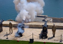 Gun Shot At Saluting Battery, ...
