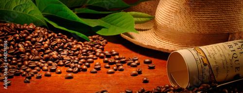 Deurstickers koffiebar chicchi di caffè