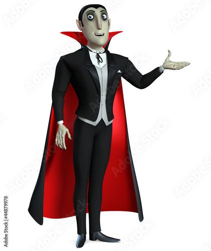 Poster de jardin Doux monstres Count Dracula