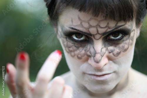 Makeup donna serpente Poster
