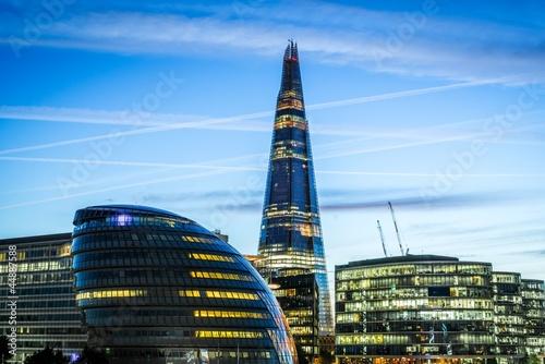 Foto op Canvas Londen Modern Architecture in London