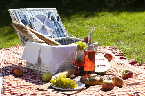 Stickers pour portes Pique-nique Perfect food in the garden. picnic