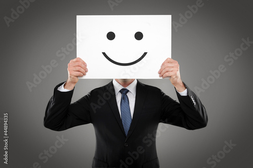 Fotografia  Man with Smiley