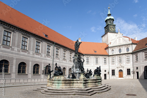 Foto  Residenz Schloss München Innenhof