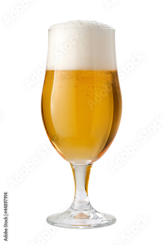 Belgian Ale (Beer) Isolated Poster