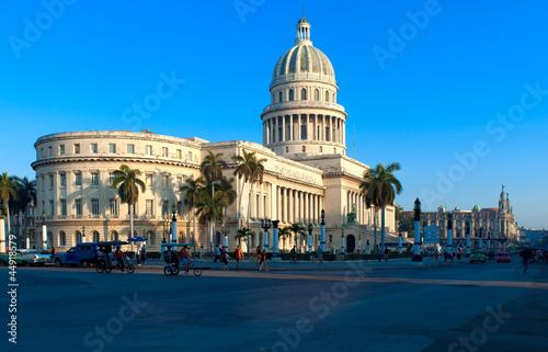In de dag Havana The Capitol building, Havana