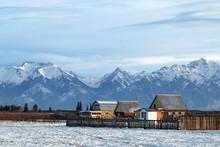 Village, Siberia, Russia
