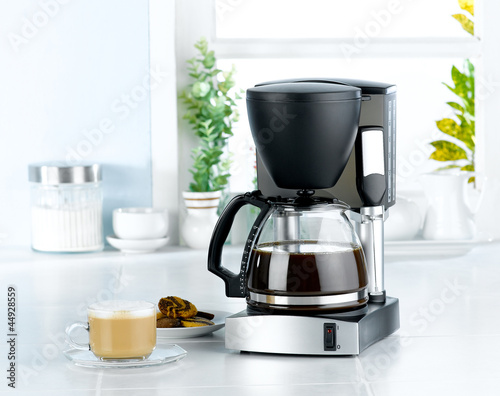 Coffee maker and boiler machine for home use and banquet Fototapet
