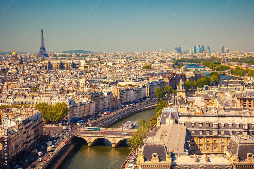 Fototapety, obrazy: View on Paris