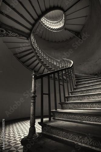 Photo Stands Stairs Schody Kręcone
