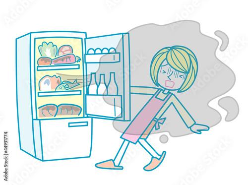 Valokuva  冷蔵庫の匂い