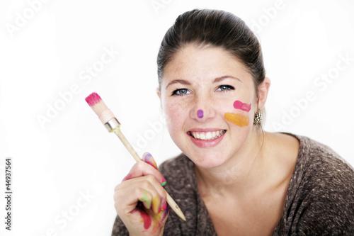Fotografía  farbenfrohes Mädchen