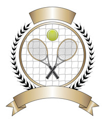 Panel Szklany Tenis Tennis Design Template Laurel
