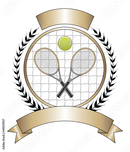 Tennis Design Template Laurel - 44939937
