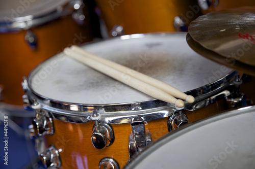 Fotografía  Schlagzeug in einer Band