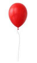 3d Red Balloon