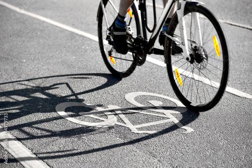 Shadow of bike