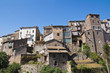 Panoramic view of Ronciglione. Lazio. Italy.