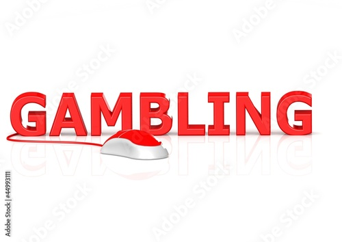 Online gambling плакат