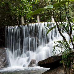 Plakat waterfall