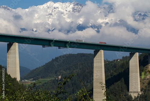 Die Europabrücke - Brennerautobahn