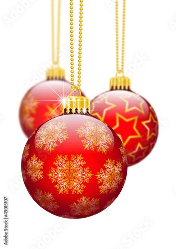 Christbaumschmuck Schmuck Dekoration Rot Weihnachtsbaum Buy