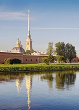 Cathedral In Peter And Paul Fortress, St. Petersburg