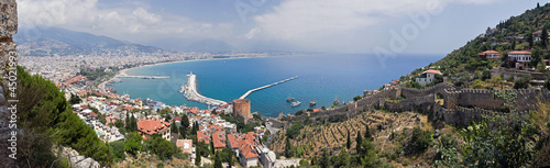 Photo Panorama of Alanya, Turkey