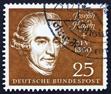 Postage Stamp Germany 1959 Jos...